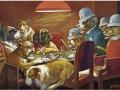 Известната картина с кучета играещи покер се... 105