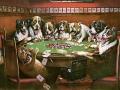 Известната картина с кучета играещи покер се... 106