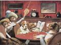 Известната картина с кучета играещи покер се... 107