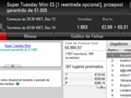 Vitória de bosscg64 no Super Tuesday €100; damazio87 Arrecada Warm-Up e MLopes01 o Big... 107