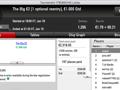 Sérgio Veloso Bisa na PokerStars.pt e Vence The Big €100 & €10 123