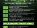 Calendário Four Seasons Solverde Poker Primavera no Hotel Casino Chaves 101