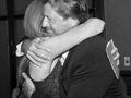 A hug for Vince