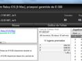 FCGrosso83, Poker_jh27 e Shinekorakki foram os Grandes Vencedores de Quarta 121