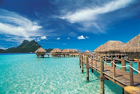 Tahiti En France : Page d'accueil du site