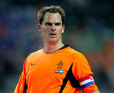 Frank de Boer in Party Poker Sports Stars Challenge IV - PokerNews