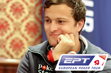 EPT San Remo - Ruben Visser chipleader van het toernooi