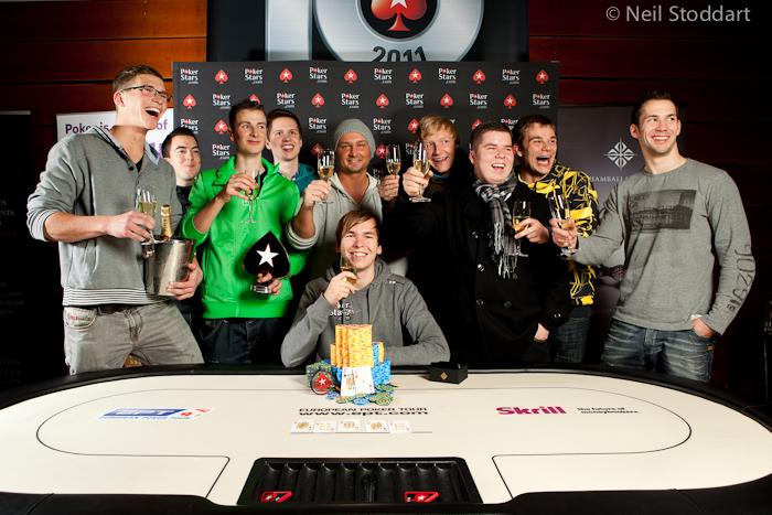 PokerStars.com EPT Praag: David Boyaciyan wordt tweede, Martin Finger wint