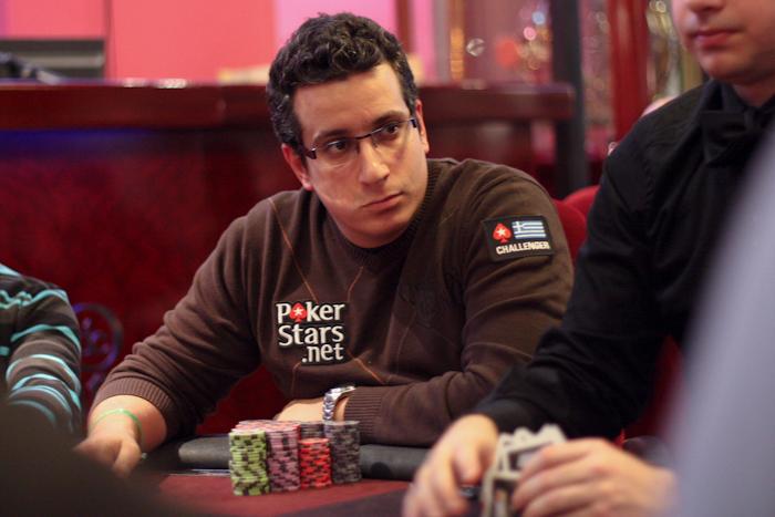 PokerStars.be BPS Namur - Grieken regeren op dag 1d