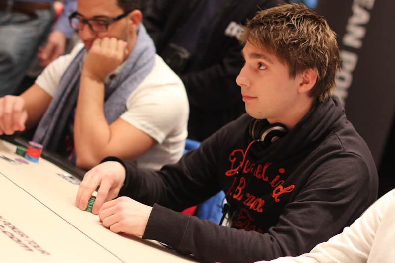 PokerStars.com EPT Kopenhagen: Niels van Alphen als enige Nederlander door naar dag 2