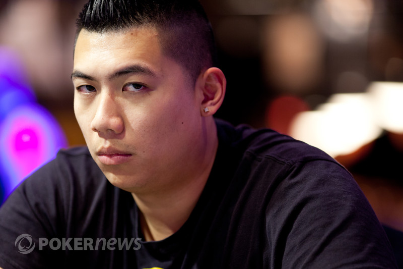 World Poker Tour Parx Open 1b Henry Lu Large Chipleader Pokernews
