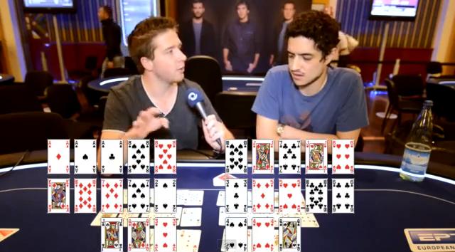 [VIDEO RECAP] PokerStars EPT San Remo 2012: Open face Chinese Poker!