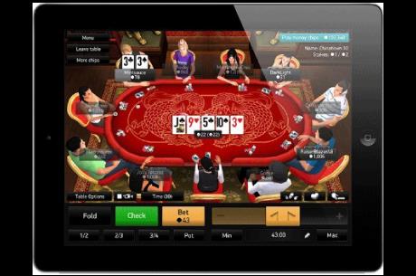 PKR poker Apple iPad