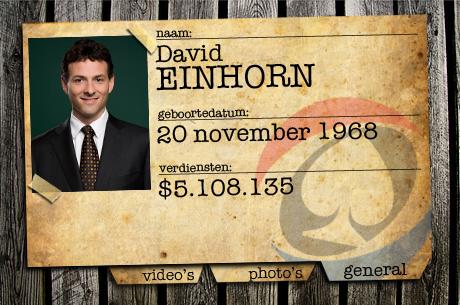 PokerNews Background Check: David Einhorn