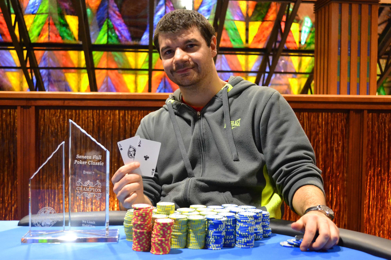 Seneca casino poker crime gambler gambling pathological problem