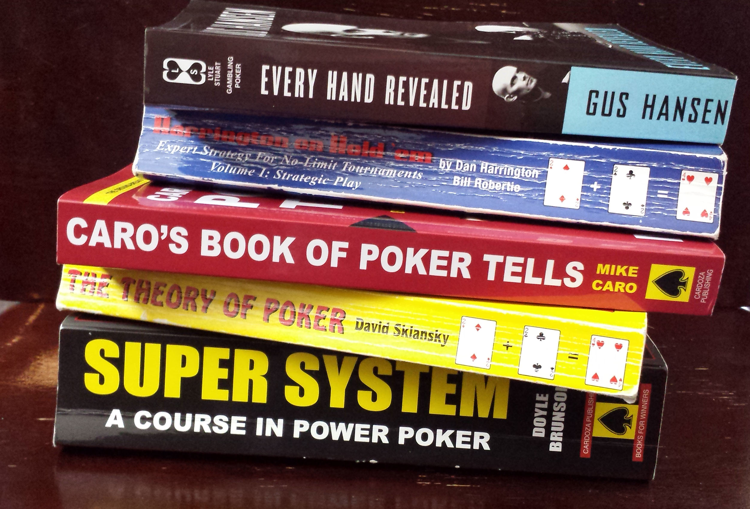 poker strategy books