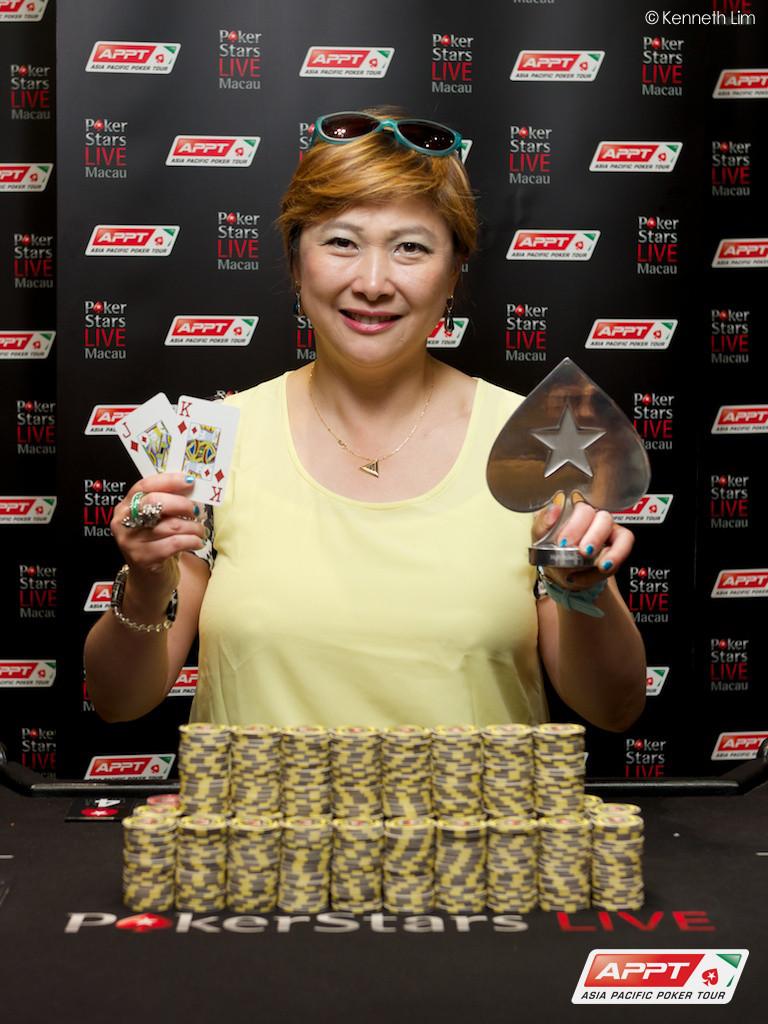 JJ Liu Wins 2014 PokerStars.net APPT Macau High Roller for