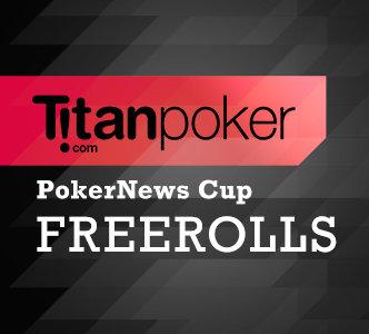 Titan poker freezeout open password