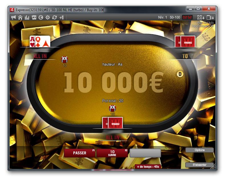 Winamax Freeroll 5 000 En Jouant Des Expressos Pokernews