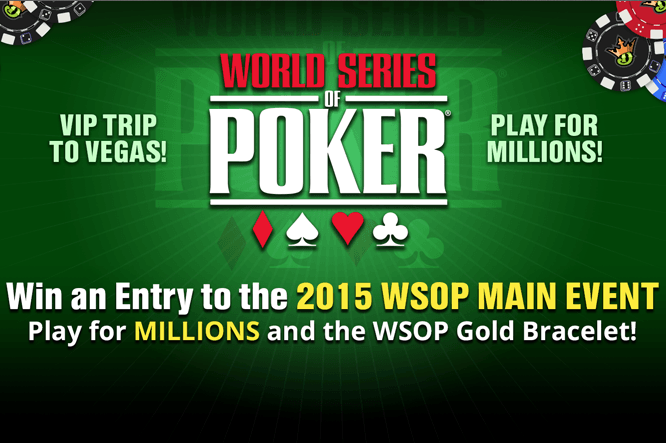 27 Wsop Main Event Satellite On Draftkings At 7 P M Et