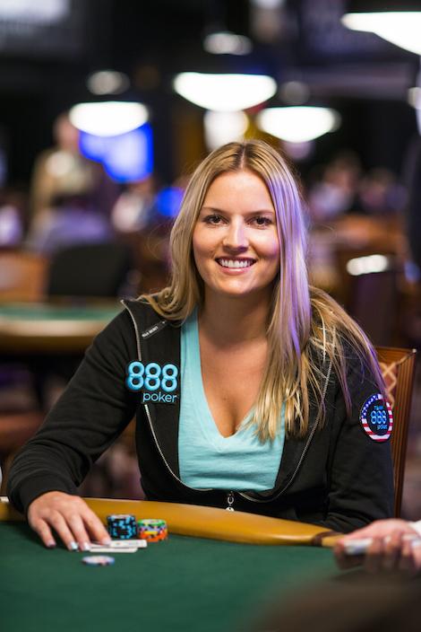 888 Pro Jessica Dawley On Poker Night In America Women In