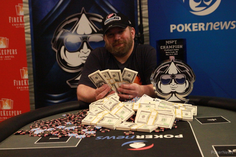 Mark Rubenstein Wins Record Breaking Mspt Firekeepers
