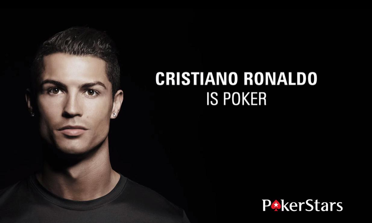 Cristiano Ronaldo es imagen de la sala de póker PokerStars