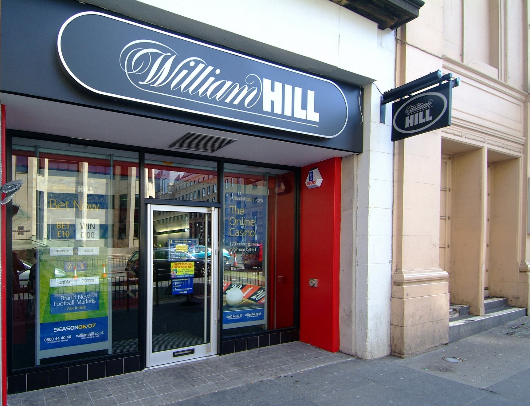 William Hill Casino Club Gutschein