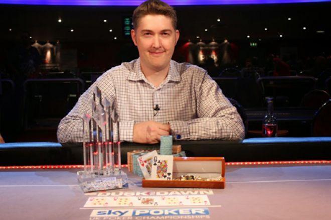 2014 Sky Poker 6-Max UKPC champion, Leigh Wiltshire