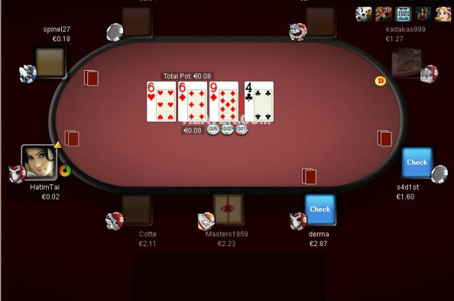 true poker freeroll password