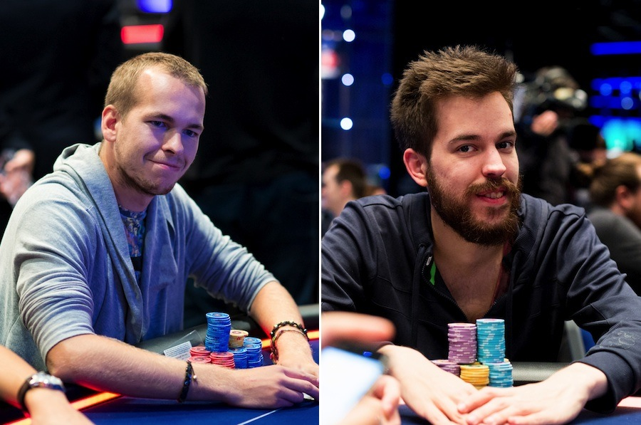 Martin Finger (left) and Dominik Nitsche (right)