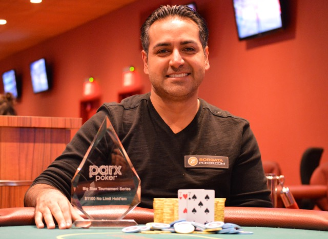 Vinny Pahuja Takes Down Parx Big Stax Xiii Championship For 62 000 After Three Way Deal Pokernews