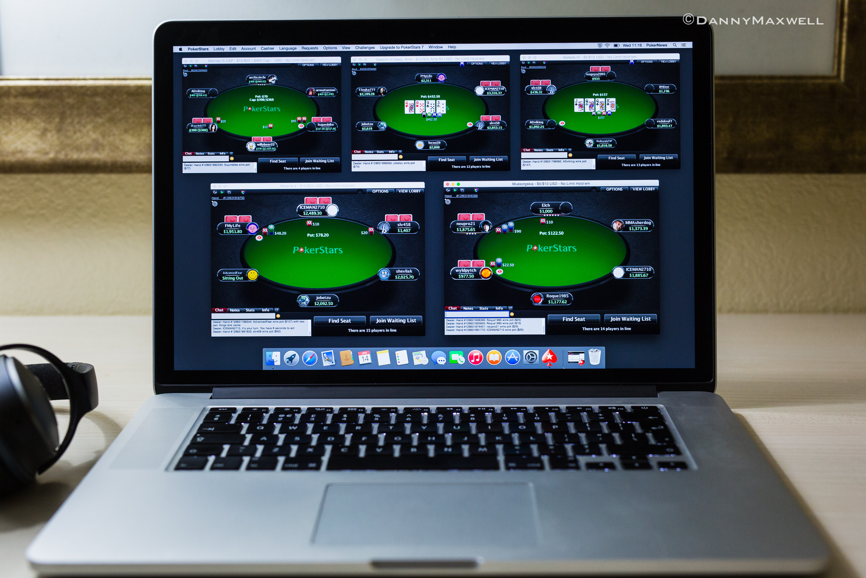 Professional Online Poker Player