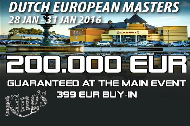 Ronald van de Linde over de Dutch European Masters in Rozvadov eind januari