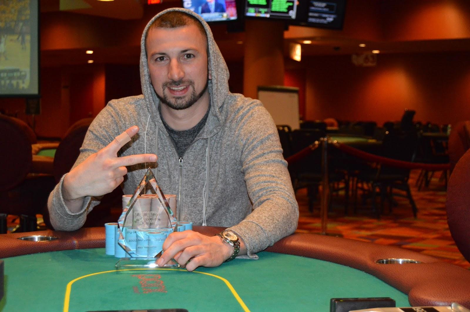 Kevin Grabel Makes History At Parx Casino Wins Back To