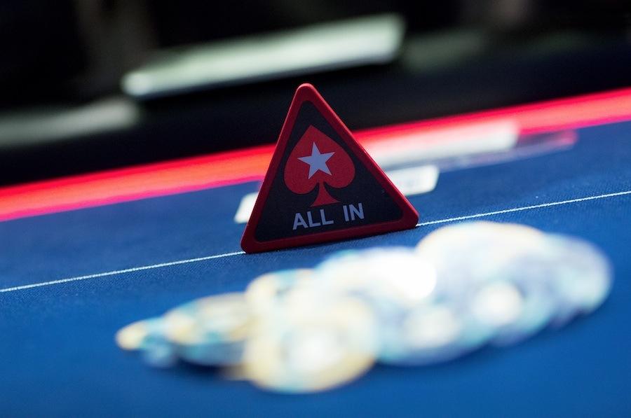 Poker shove term