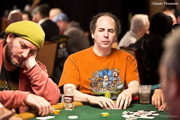Poker auto muck hand