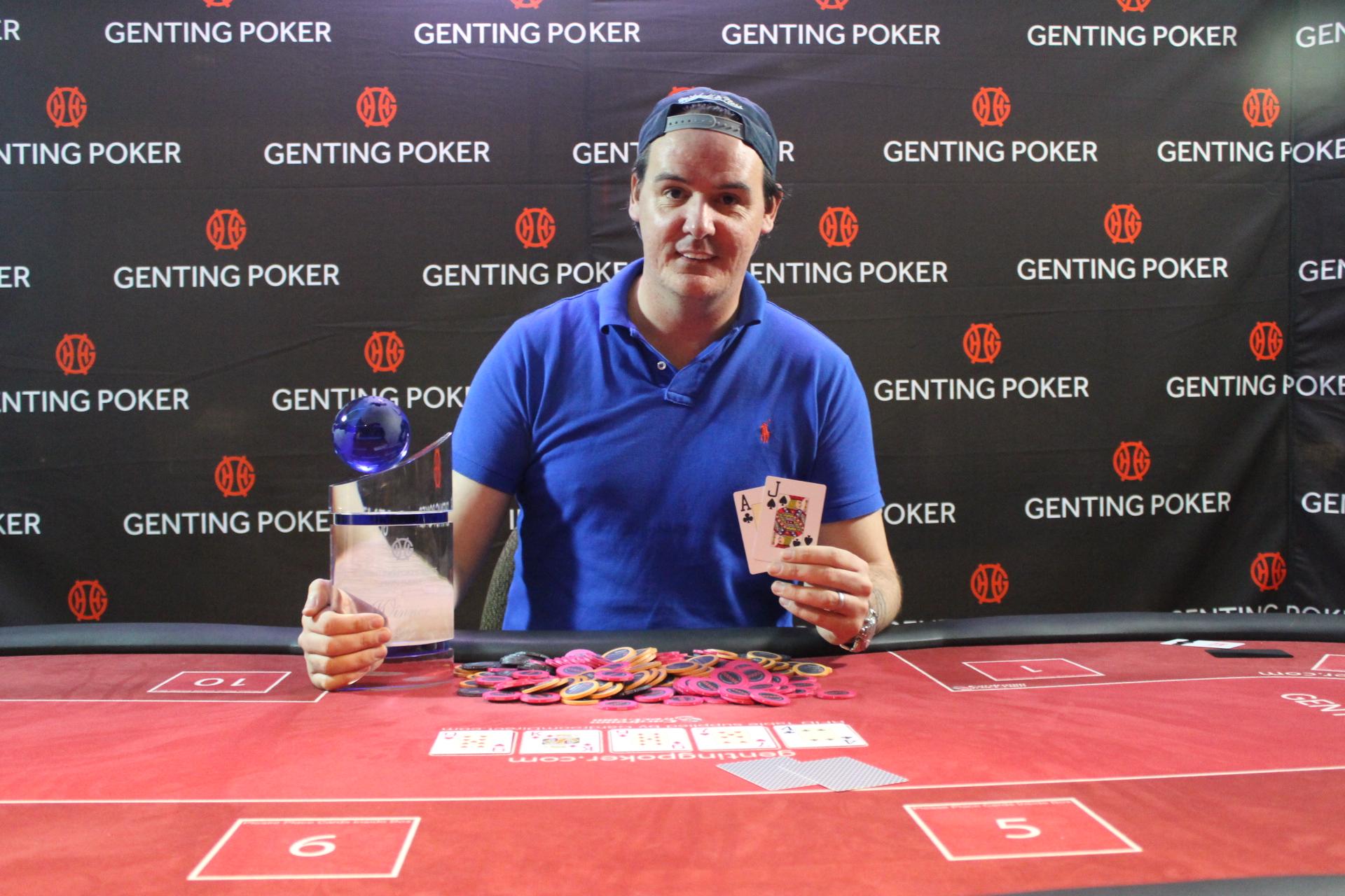Genting poker edinburgh results the score poker tournament