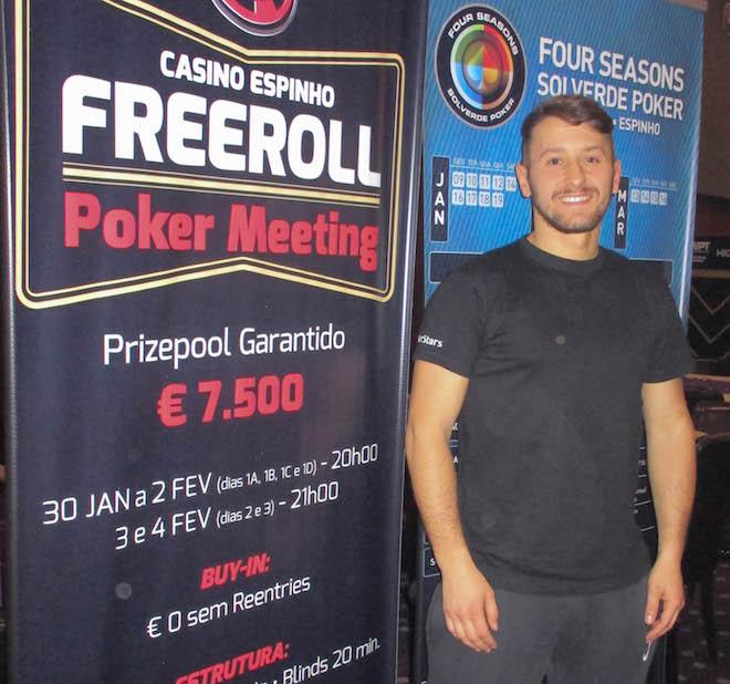 Casino espinho poker meeting