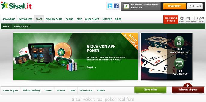 Sisal poker download gratis