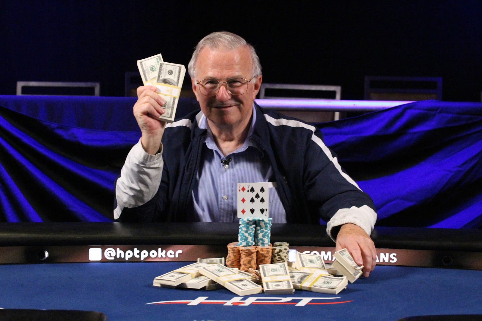 Tom Morse Turns Satellite Win Into 117k At Hpt St