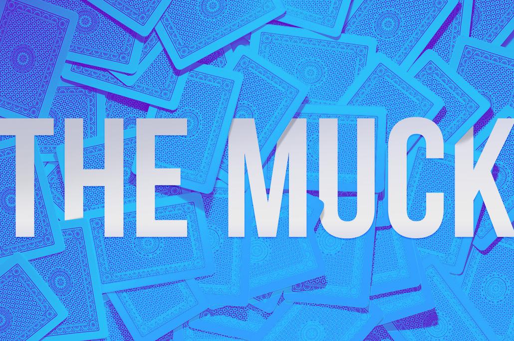 Poker dictionary muck