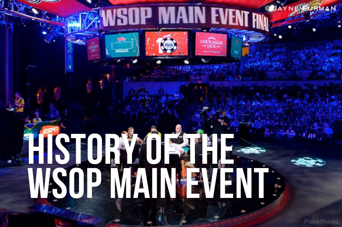 The 2014 World Series of Poker Main Event final table