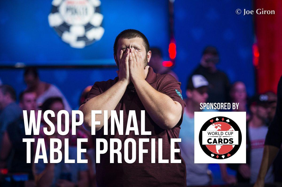 WSOP Final Table Profile: Scott Blumstein 0001