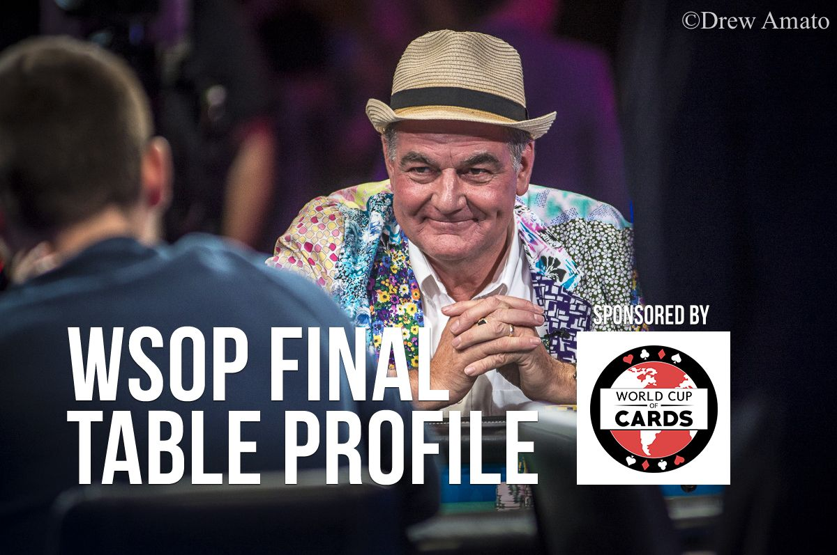 WSOP Final Table Profile: John Hesp 0001