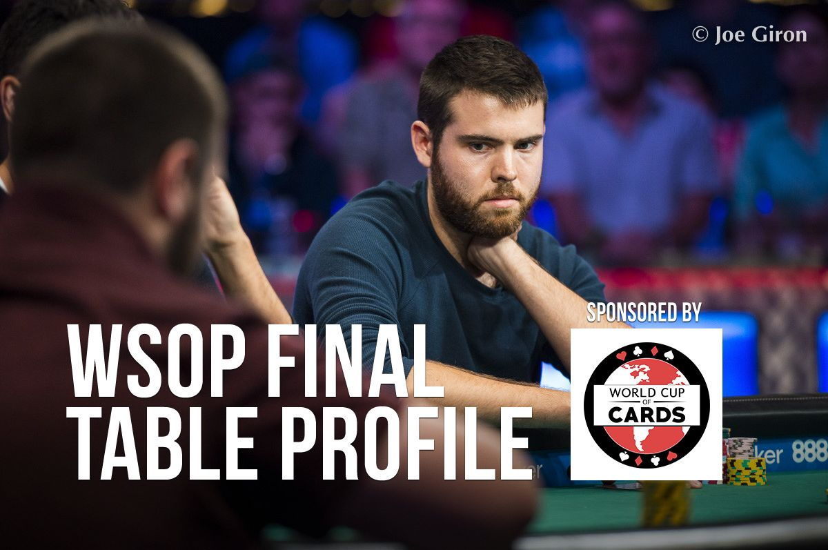 WSOP Final Table Profile: Jack Sinclair 0001