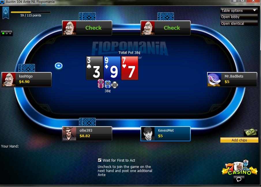 wildhorse casino poker