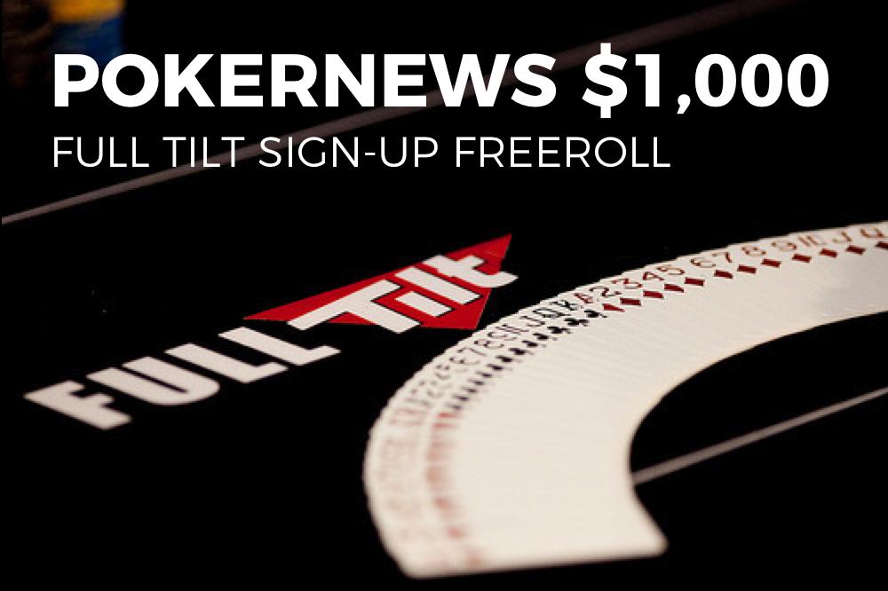 Full tilt poker freeroll schedule