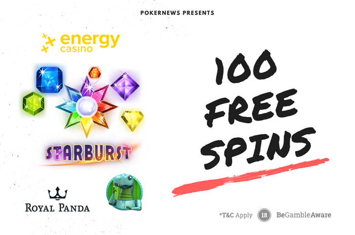 100 Free Spins To Play Starburst For Real Money Pokernews