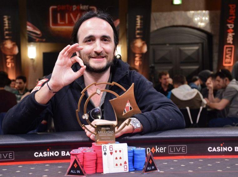 MILLIONS Barcelona : Davidi Kitai triomphe pour 700.000€ 0001